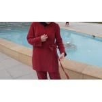 Kırmızı Coupro Kruvaze- www.aysenuryelken.com