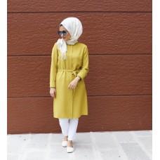 Sari ve Bej Desenli Tunik - Stilistanka Güvencesi