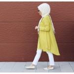 Asimetrik Sarı Tunik Ürünler